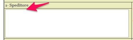 certificato di origine casella 1 speditore